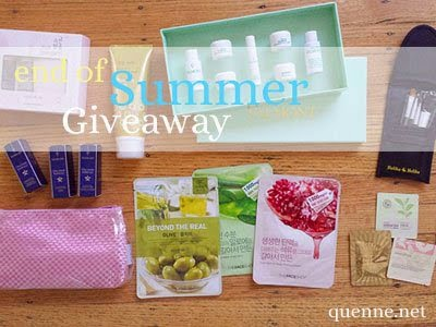 The Jesselton Girl Giveaway: Quenne.Net's End of Summer Giveaway