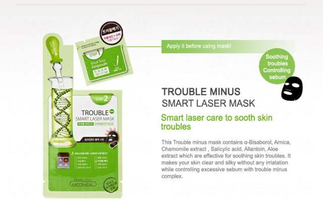The Jesselton Girl NEW: Beauty Clinic Mediheal Trouble Minus Smart Laser Mask