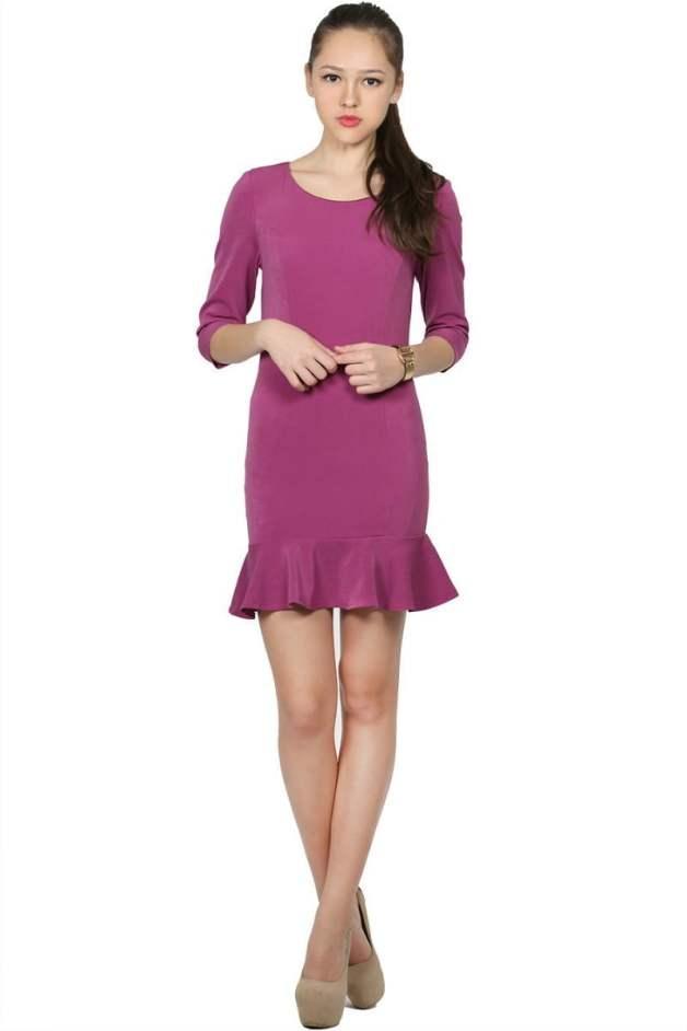 Frock of Fancy Dress (Magenta)_3-800x1200