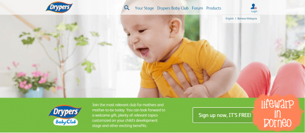 Online: Why You Should Join Drypers Baby Club
