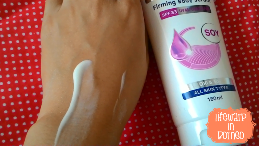 The Jesselton Girl Review: NIVEA Anti-Age White Firming Body Serum SPF33