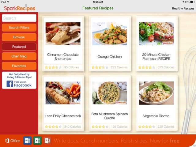 The Jesselton Girl Apps: Healthy Recipes by SparkRecipes
