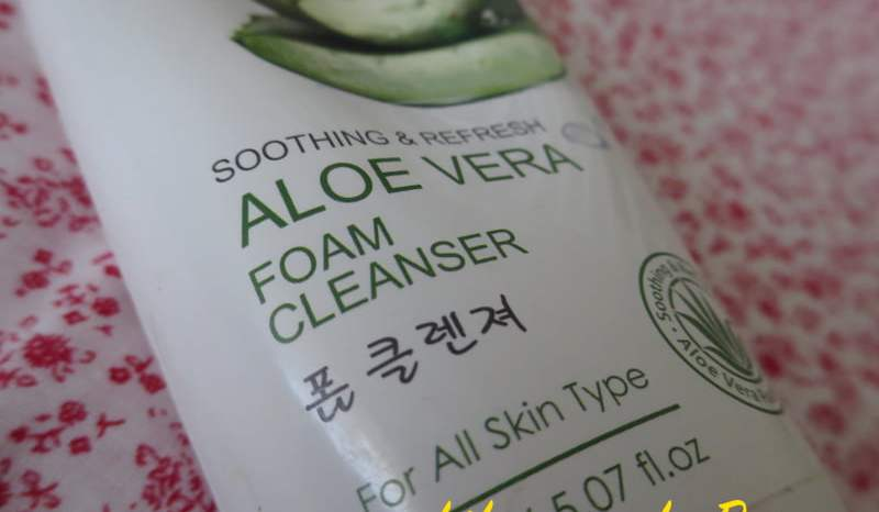 The Jesselton Girl Beauty: Always 21 Soothing & Refresh Aloe Vera Foam Cleanser