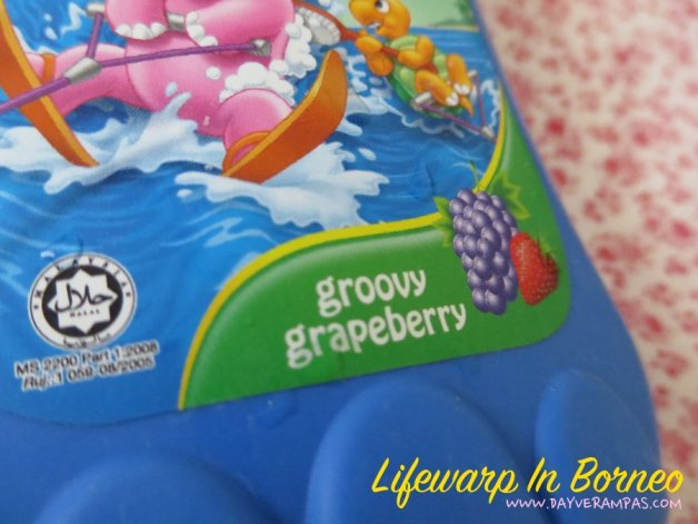 Carrie Junior Baby Bath - Groovy Grapeberry