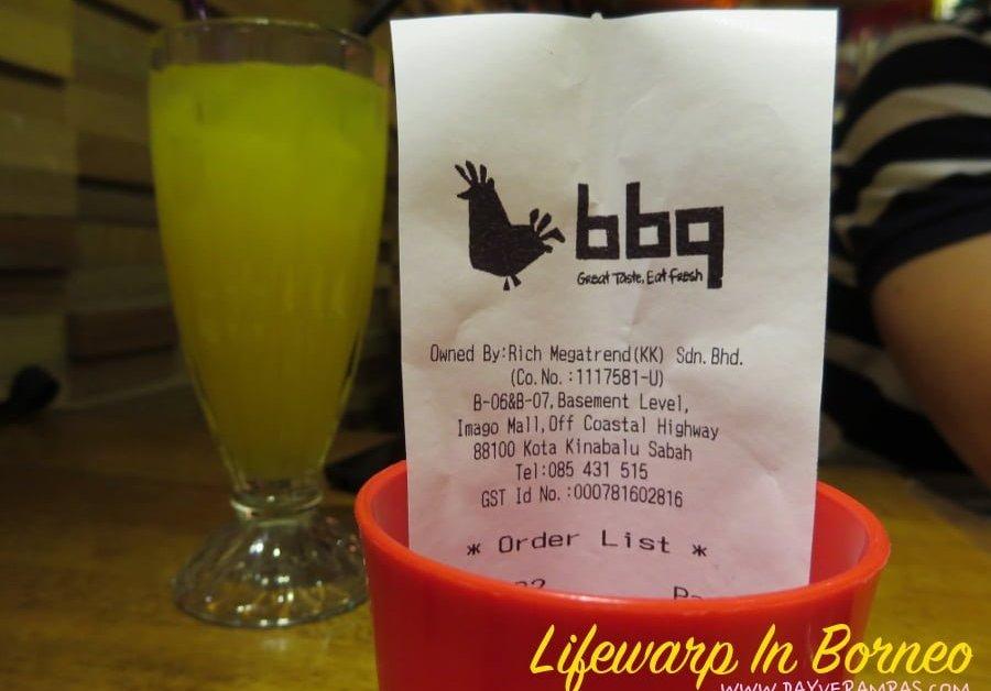 Food: BBQ Chicken @ Imago Mall Sabah