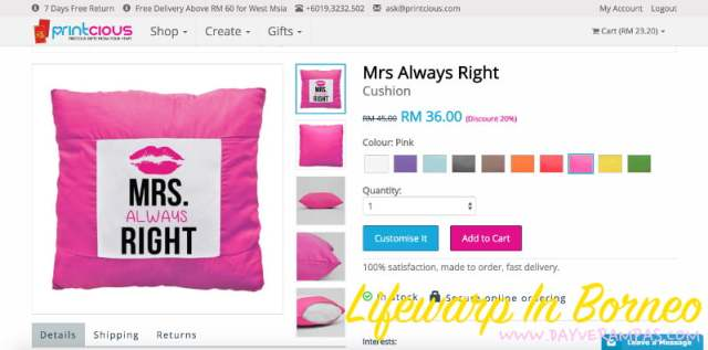 The Jesselton Girl Shopping: Get a Pinterest-Inspired Pillow Case From Printcious