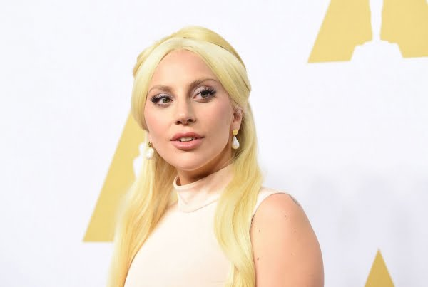 Lady Gaga arrives at the 88th Oscar Nominees Luncheon in Beverly Hills, California, February