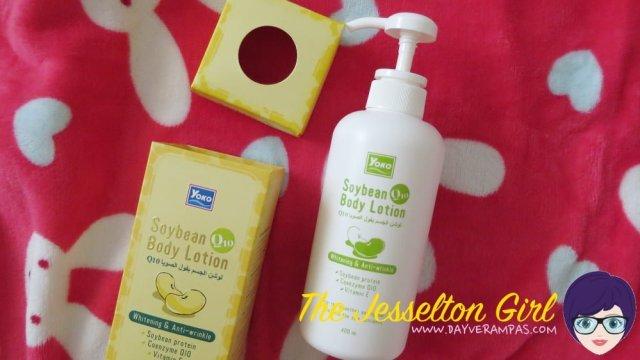 The Jesselton Girl Review: YOKO Soybean Q10 Whitening & Anti-Wrinkle Body Lotion