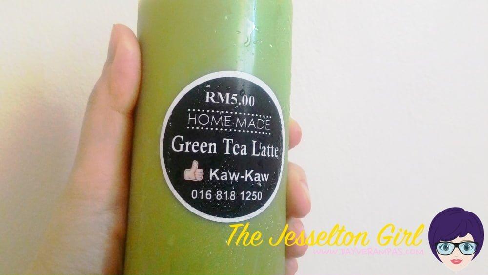 Green Tea Latte by Kaw Kaw