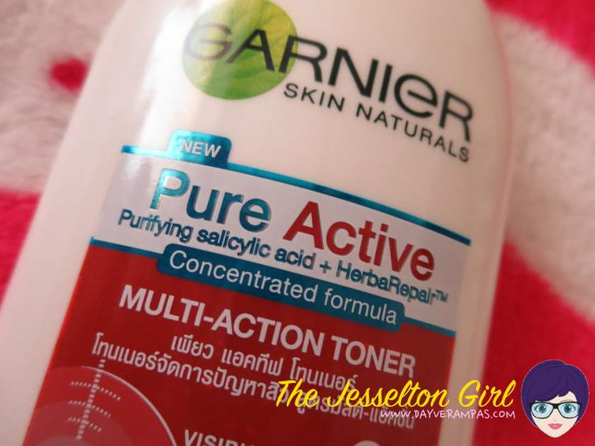 The Jesselton Girl Review: Garnier Skin Naturals Pure Active Toner