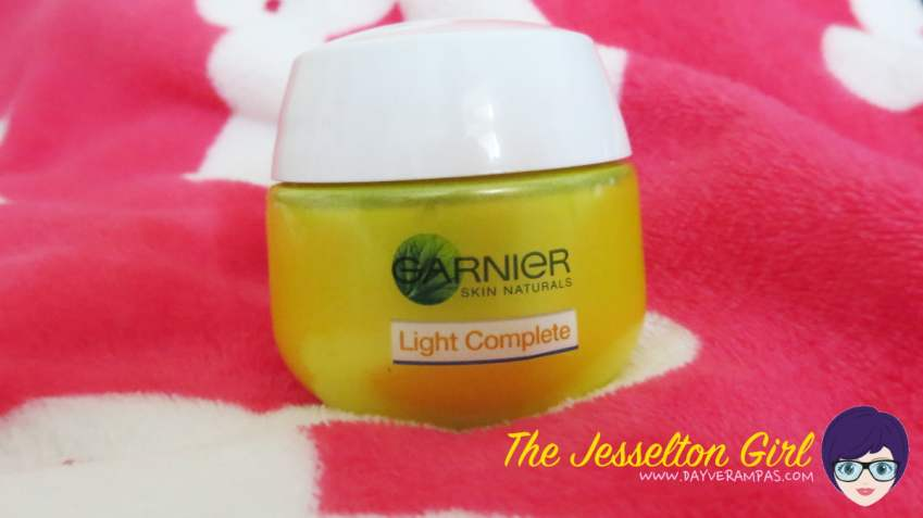 The Jesselton Girl Review: Garnier Light Complete Multi-Action Whitening Cream Night Restore