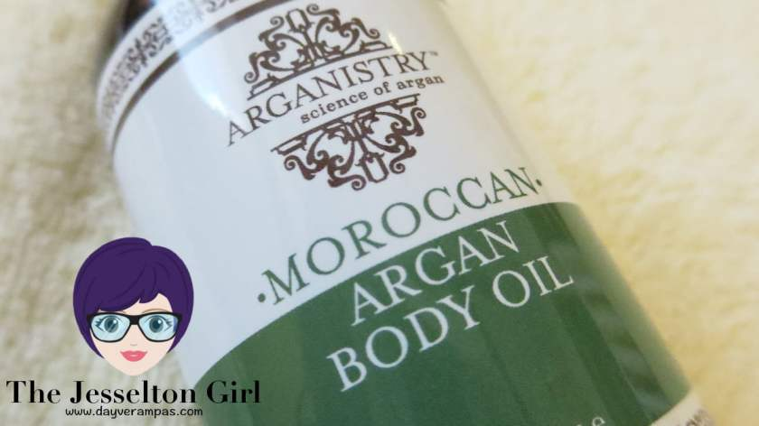The Jesselton Girl Review: Arganistry Moroccan Argan Body Oil