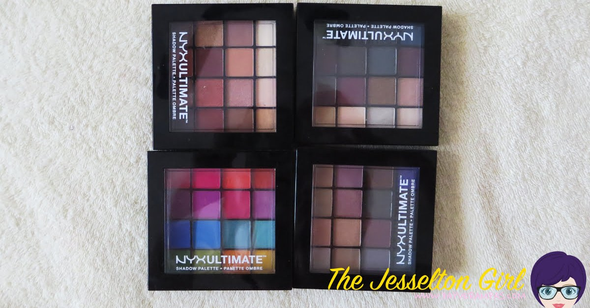 Review: NYX Ultimate Eyeshadow Palette