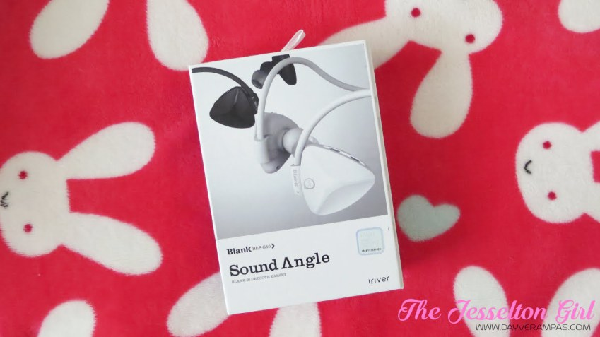 The Jesselton Girl Tech: iRiver Blank Sound Angle Bluetooth Earphone BES-S50