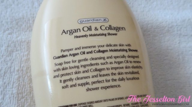 Guardian Moistcare Argan Oil & Collagen Heavenly Moisturising Shower