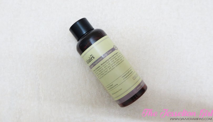 The Jesselton Girl Beauty: How I Treat My Acnes with Klairs Supple Preparation Facial Toner