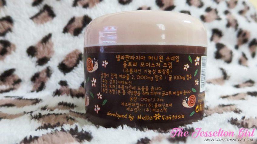 Nella Fantasia Honey One Snail Ultra Moisture Cream