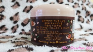 The Jesselton Girl Nella Fantasia Honey One Snail Ultra Moisture Cream