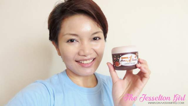 No More Dry Skin with Nella Fantasia Honey One Snail Ultra Moisture Cream, The Jesselton Girl