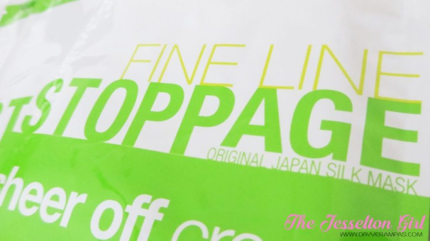 B.liv Fine Line Stoppage Sheer off Crease Face mask