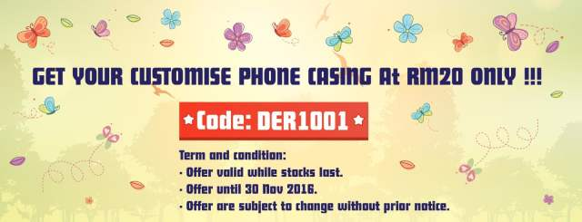 Shopping: Here's How To Get a Customized Phone Casing For RM20 Only, The Jesselton Girl
