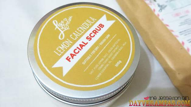 Review: Love, Lusie's Lemon Calendula Facial Scrub