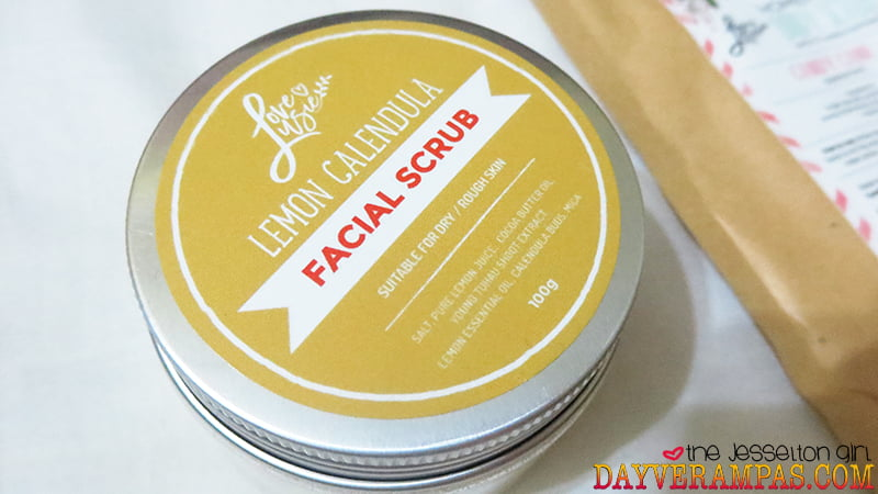 The Jesselton Girl Review: Love, Lusie's Lemon Calendula Facial Scrub