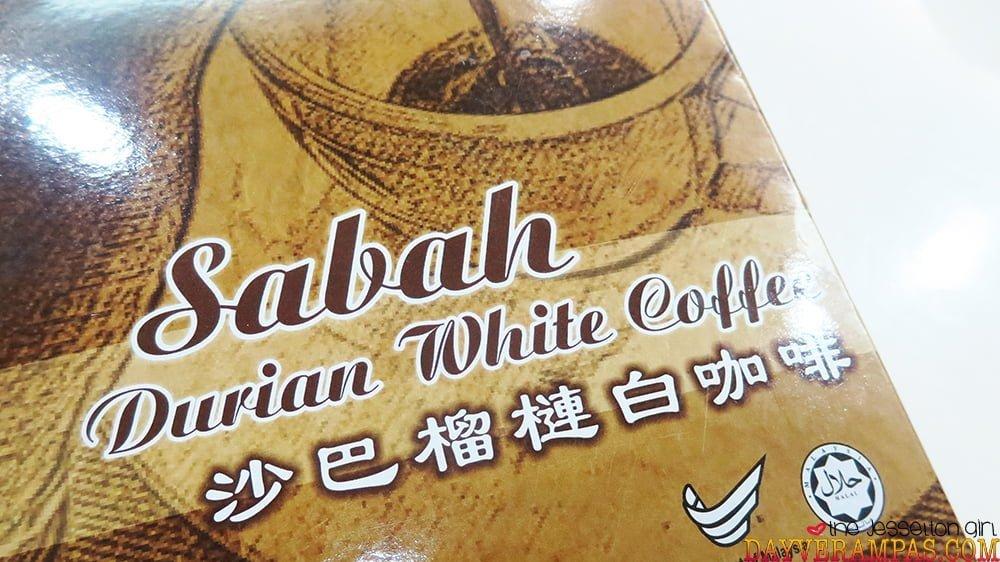 Sabah Durian White Coffee