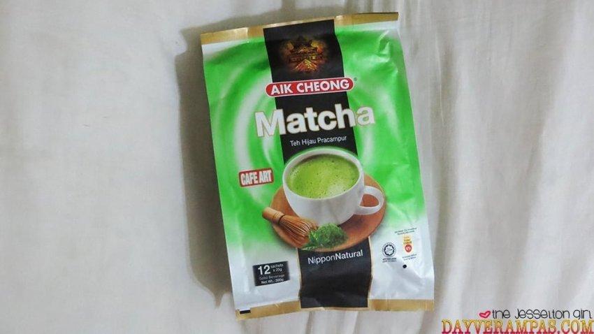 The Jesselton Girl Review: Aik Cheong Matcha | Teh Hijau Pracampur