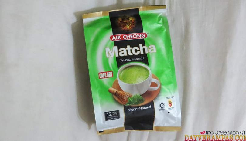 The Jesselton Girl Review: Aik Cheong Matcha | Teh Hijau Pracampur