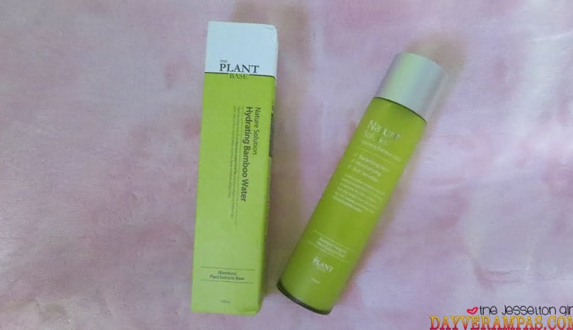 The Jesselton Girl Review: THE PLANT BASE Nature Solution Hydrating Bamboo Water