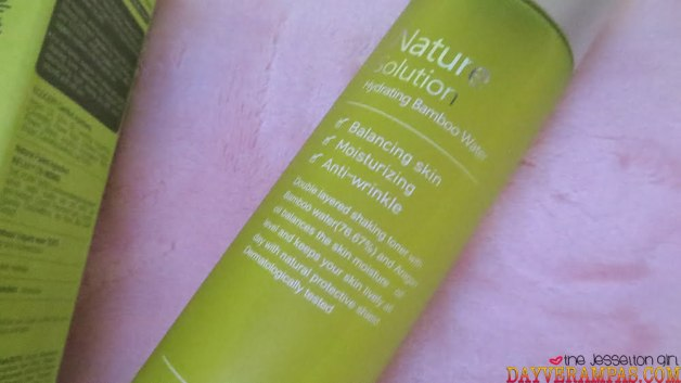 THE PLANT BASE Natural Solution Hydrating Bamboo Water
