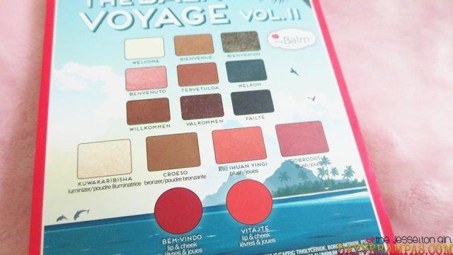 Review: theBalm Voyage Vol. 2 Face Palette, The Jesselton Girl
