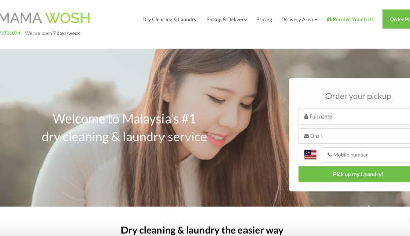Service: Mama Wosh – The Best Cleaning Service in Malaysia