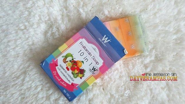 Get a Fairer and Flawless Skin with Wink White Fruitamin 10-in-1 Soap