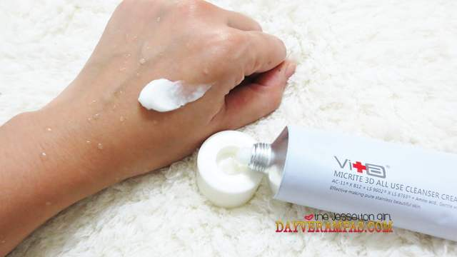 Pure Stainless Beautiful Skin with Swissvita Micrite 3D All Use Cleanser Cream, The Jesselton Girl