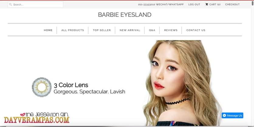 Barbie Eyesland Malaysia