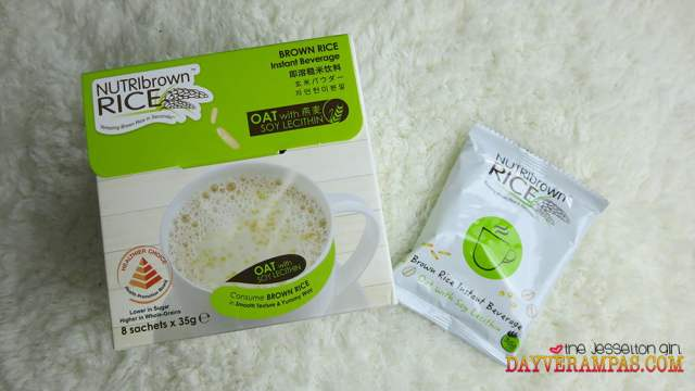 NutriBrown Rice Brown Rice Instant Beverage