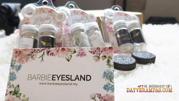 Tested & Confirmed: 100% Authentic & High Quality Cosmetic Contact Lenses from Barbie Eyesland Malaysia