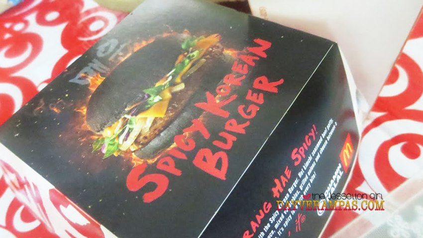 The Jesselton Girl Here are Some Reasons To Fall in Love with McDonald's Spicy Korean Burger
