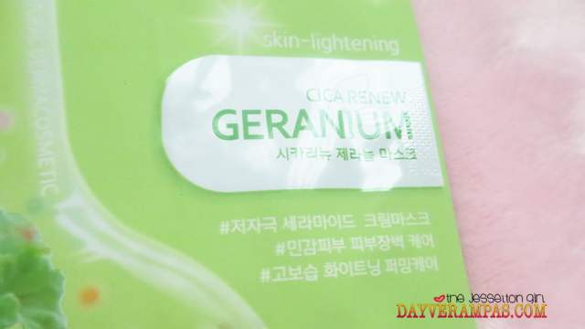 The Jesselton Girl Nature Medics Rappol Cica Renew Geranium Mask Is So Ultra-Moisturizing & Calming