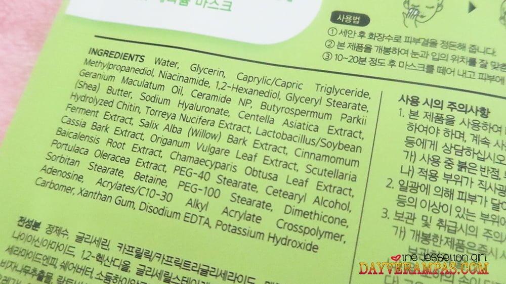 Nature Medics Rappol Cica Renew Geranium Mask