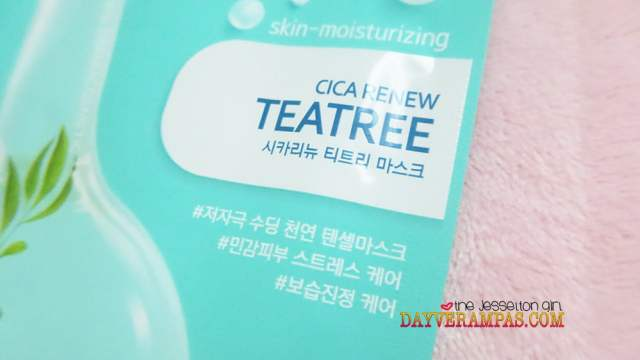 Nature Medics Rappol Cica Renew Teatree Mask Moisturizes & Lightens My Skin Instantly!, The Jesselton Girl
