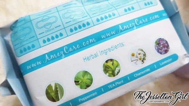 Amez Care Day Bio Herbal Sanitary Pad Napkins