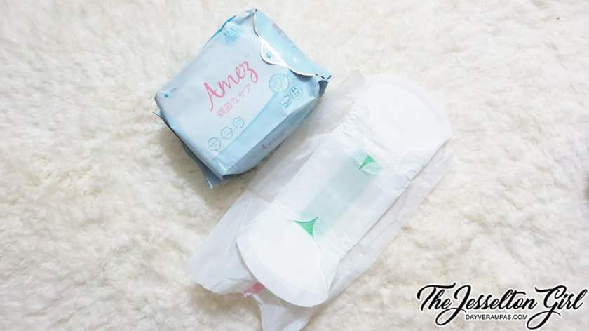 The Jesselton Girl Review: Amez Care Day Bio Herbal Sanitary Pad Napkins