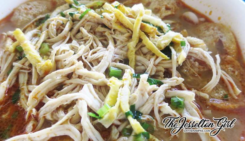 The Jesselton Girl Where To Eat: Sarawak Laksa (砂拉越叻沙) @ 1st Floor, Pasar Pekan Manggatal