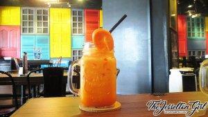Tavern Kitchen & Bar - Carrot Milk Juice
