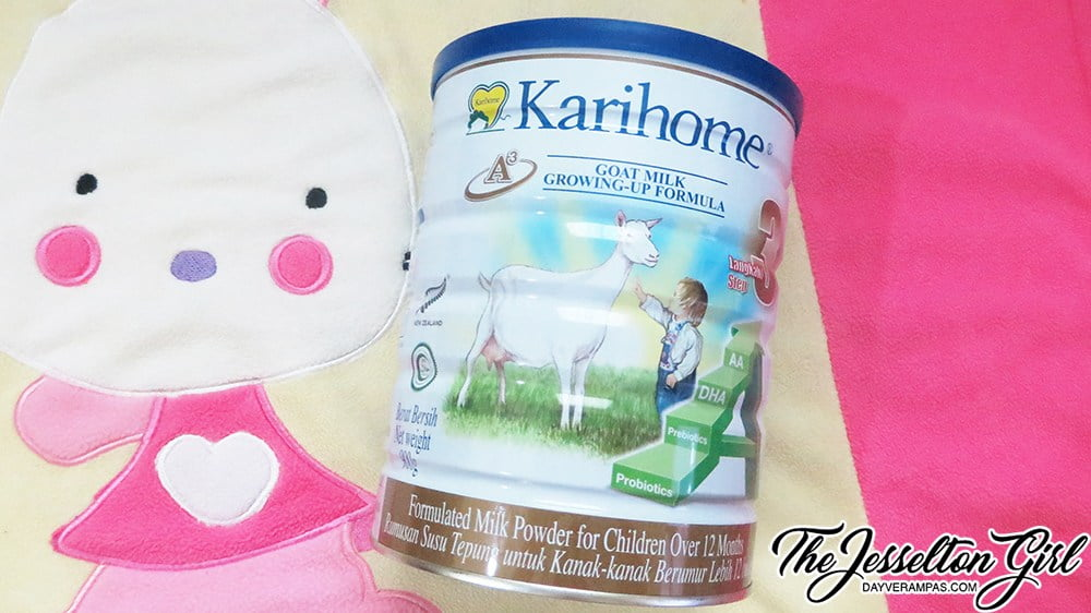 Review: Karihome Goat Milk Growing-Up Formula (Step 3)