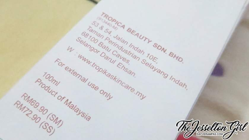 The Jesselton Girl Review: TROPIKA Face Cleansing Oil