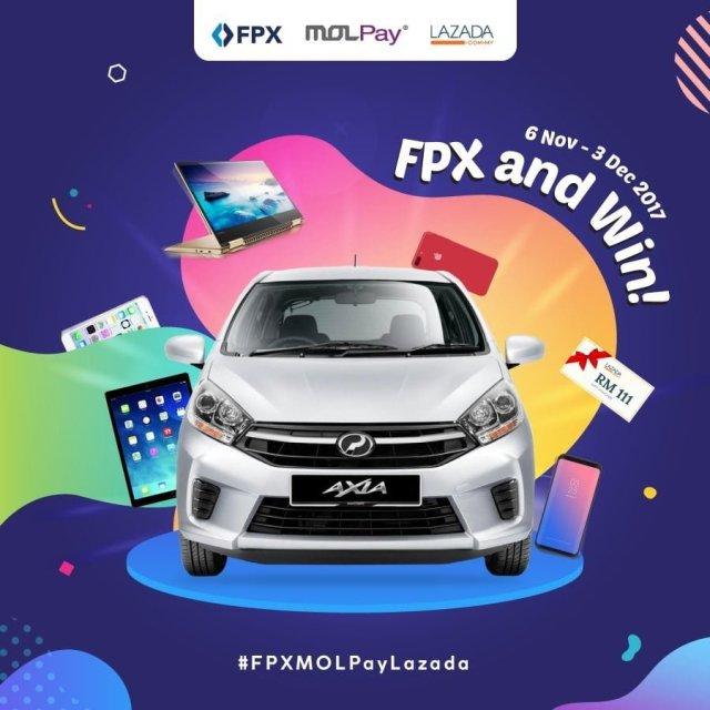 FPXMOLPay Lazada